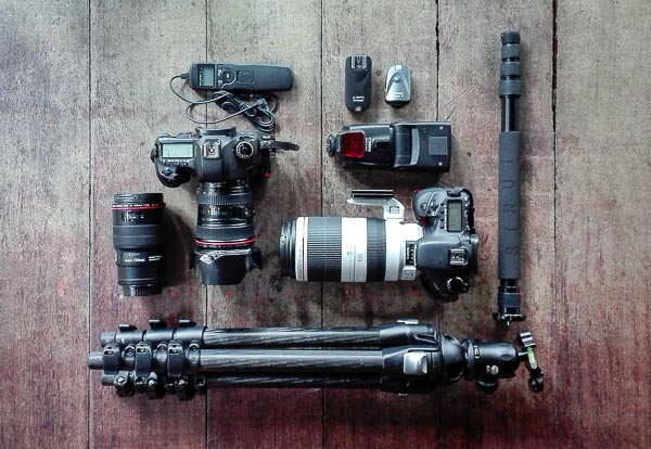 Kameraequipment-Reisefotografie