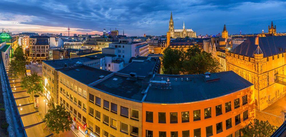 Fotokurs Blaue Stunde Gürzenichstraße Köln