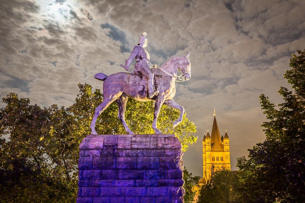 Reiterstandbild Kaiser Wilhelm II Köln