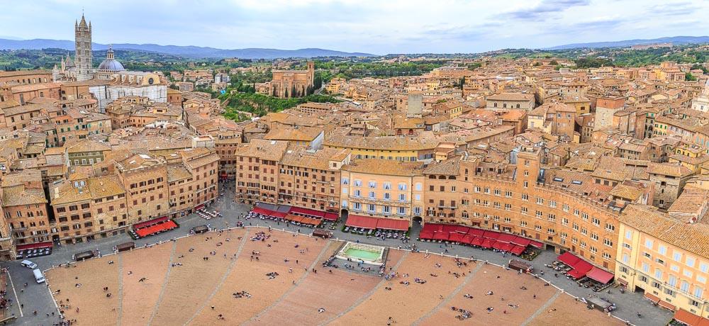 Siena Toskana Tuscany Italien