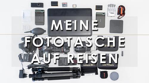 Fototasche für Rom Equipment Reisefotografie