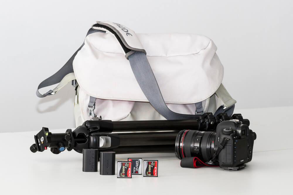 Die perfekte Fotoausrüstung für die Reisefotografie.